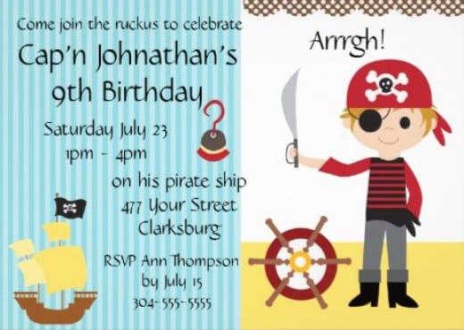Pirate Invitations Archives