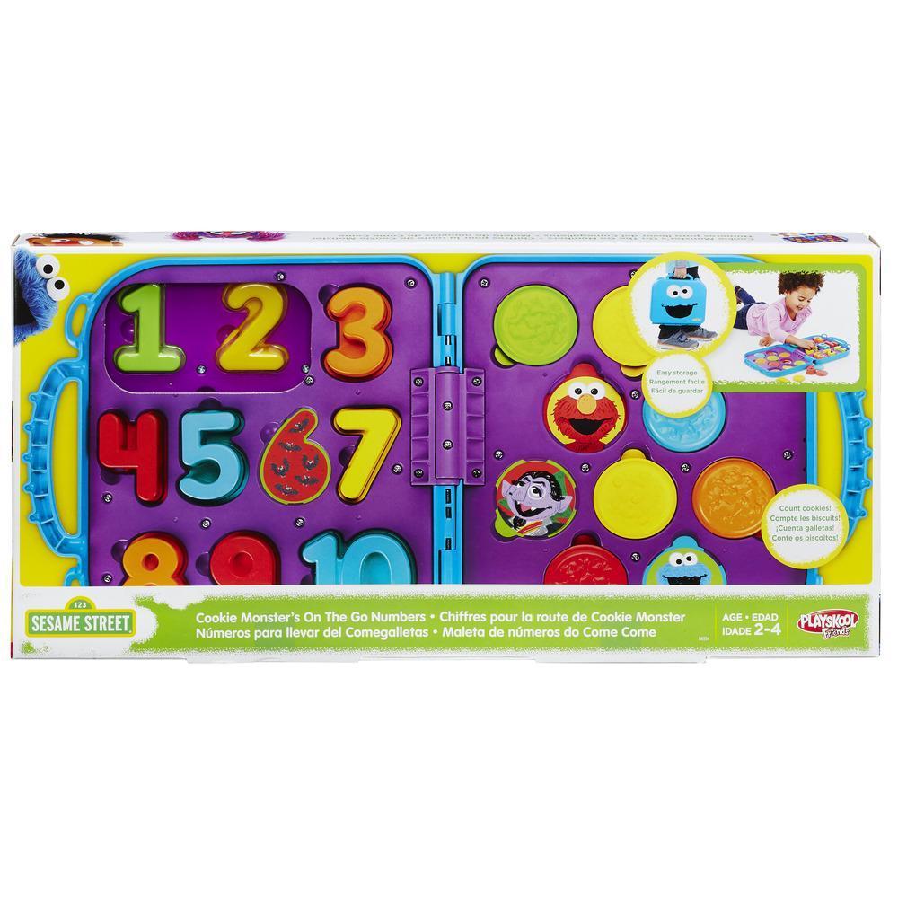 Playskool Sesame Street Cookie Monster's On The Go Numbers