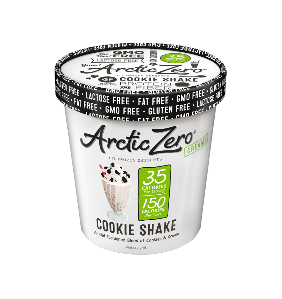 Product Review  Arctic Zero Cookie Shake Pint – Mea's Munchies