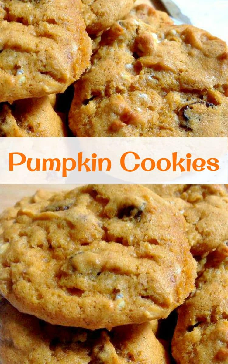Pumpkin Cookies  These Are So Delicious Be Sure You Make Up Plenty