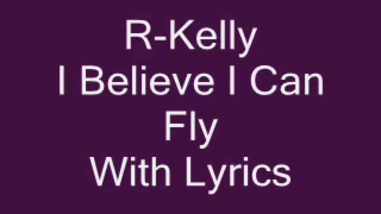 R Kelly I Believe I Can Fly Lyrics On Vimeo
