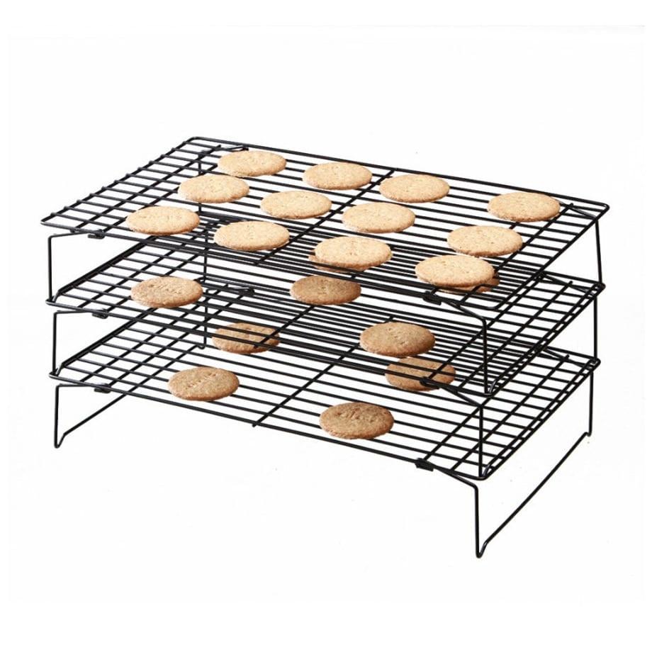 Rack 3 Tier Excelle Elite Baking Cooling Bakeware Cookie Holder