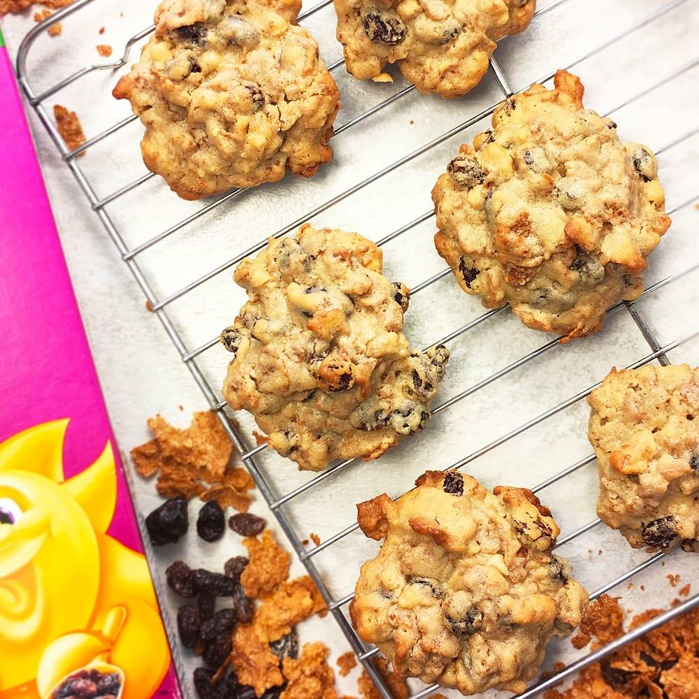 Raisin Bran Cookies Made With Kellogg's Raisin Bran Cereal