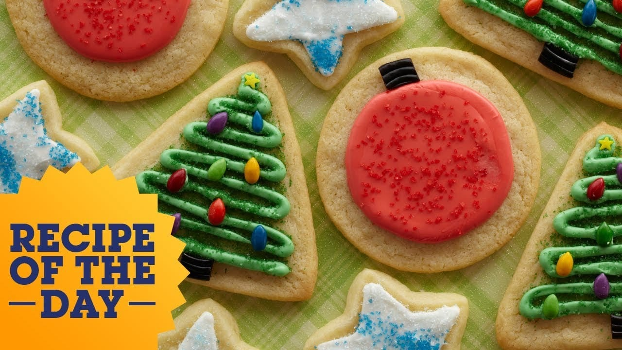 Recipe Of The Day  Trisha's Iced Sugar Cookies
