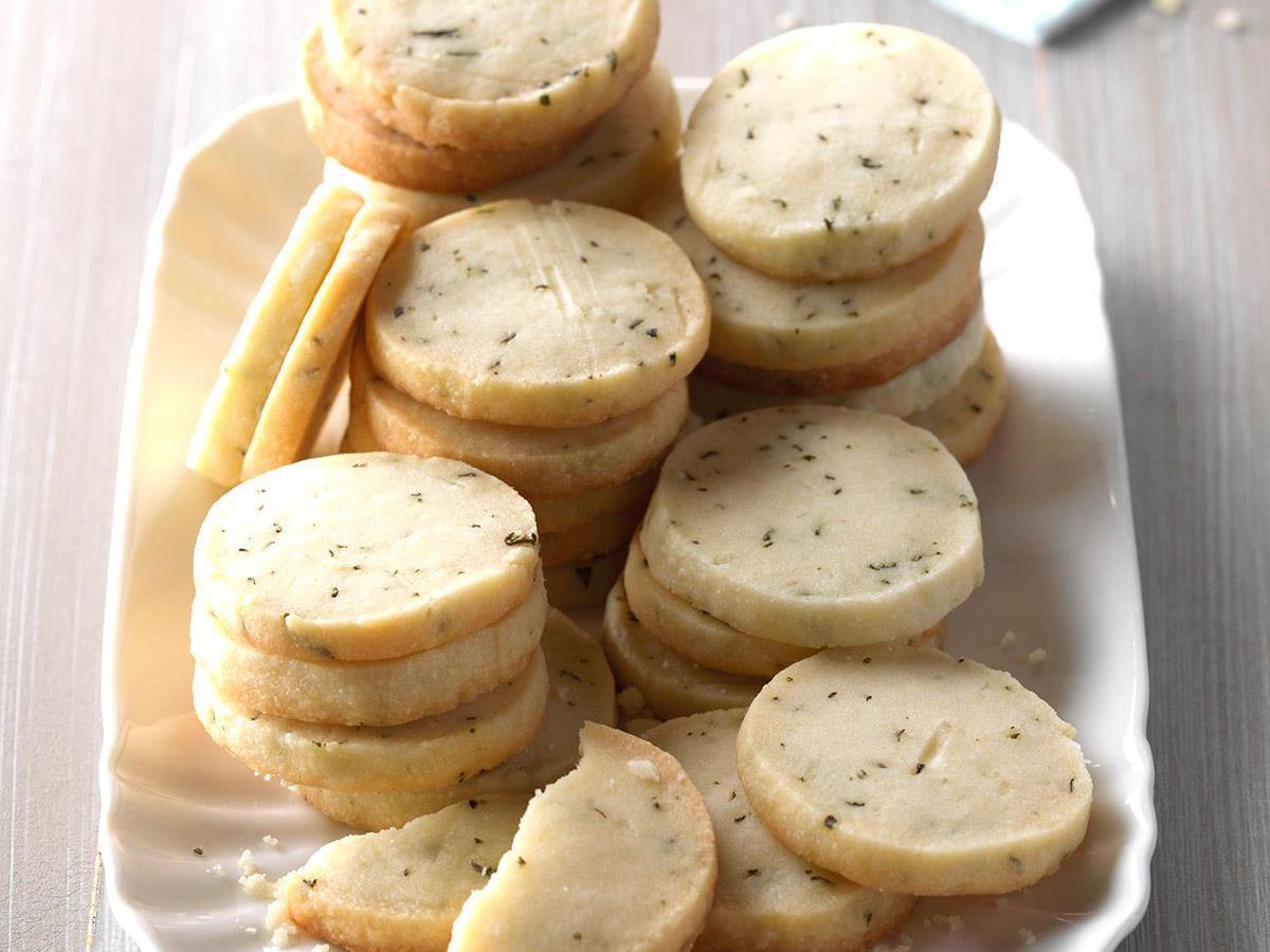Rosemary Shortbread Cookies Recipe