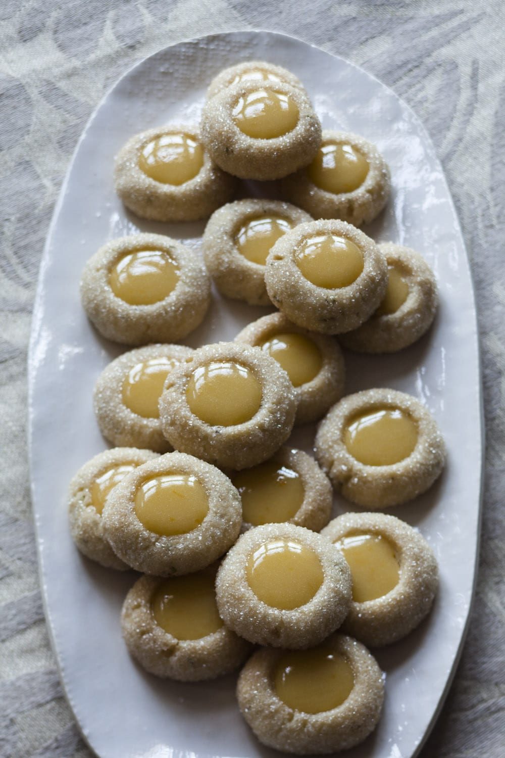 Rosemary Thumbprints With Clementine Curd And The Day I Went To