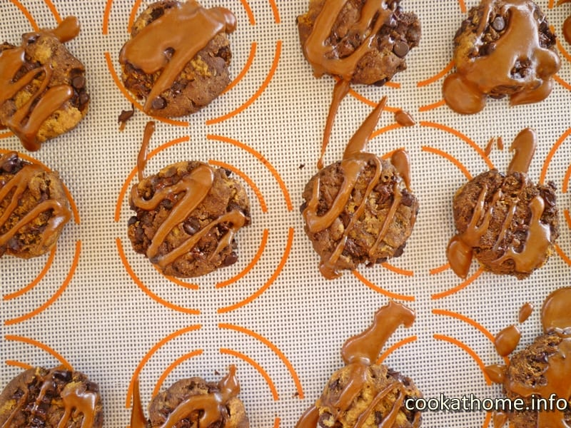 Sally's Ultimate Peanut Butter Chocolate Cookies