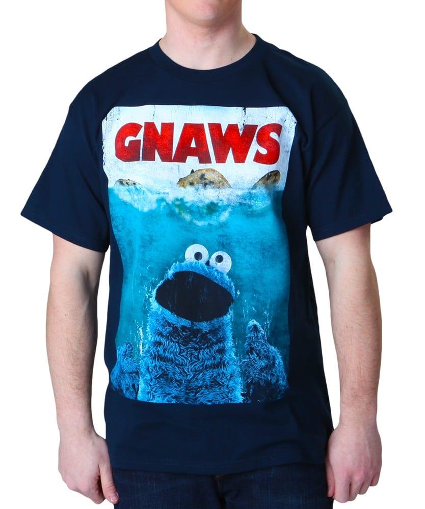 Sesame Street Cookie Monster Gnaws T