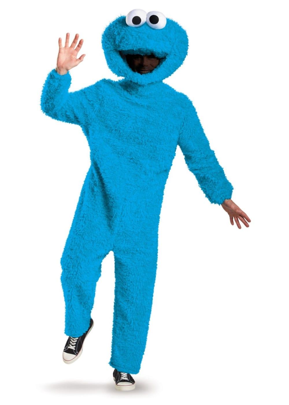 Sesame Street Cookie Monster Men Costume
