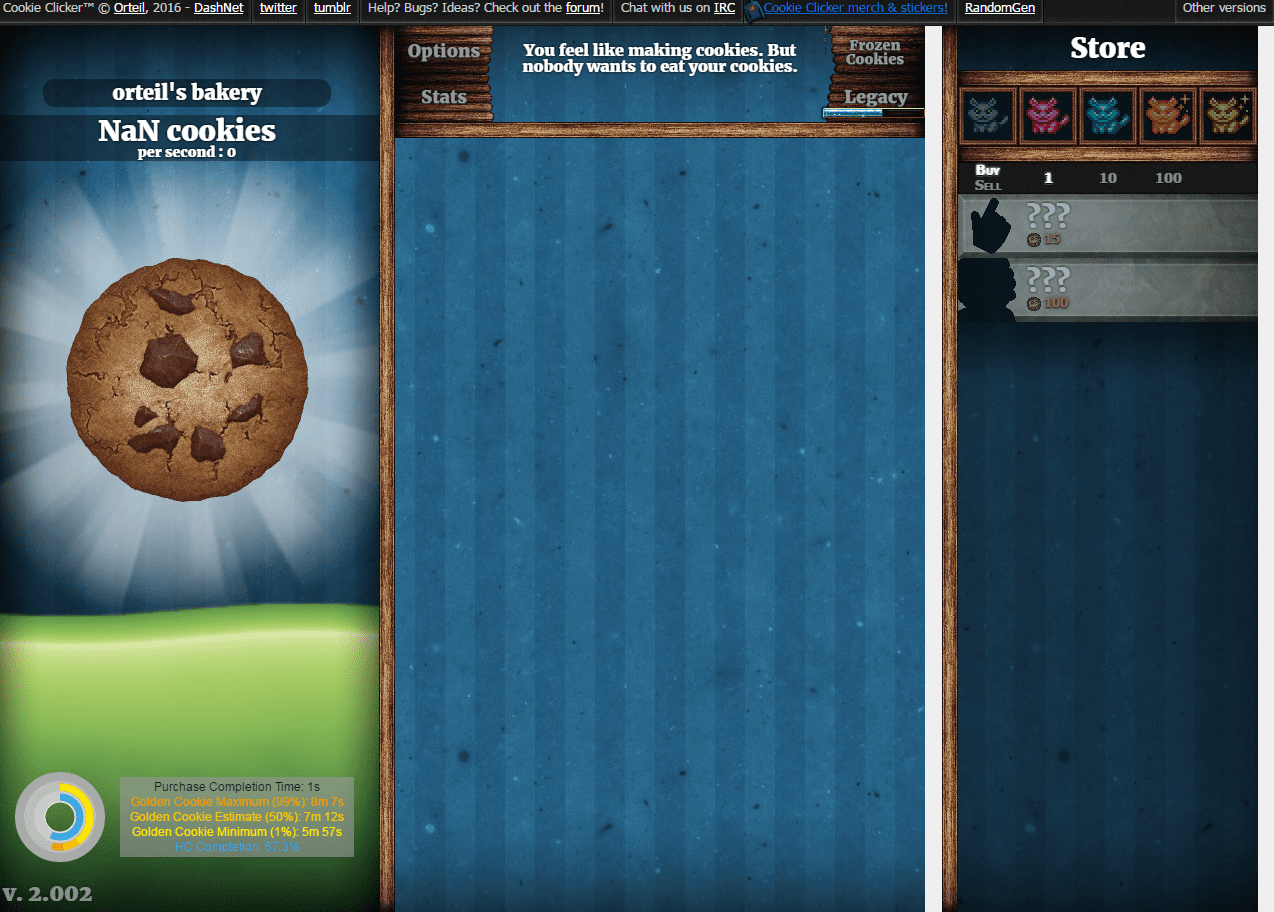So I Was Cheating In Cookie Clicker And Now My Cookies Are Broken