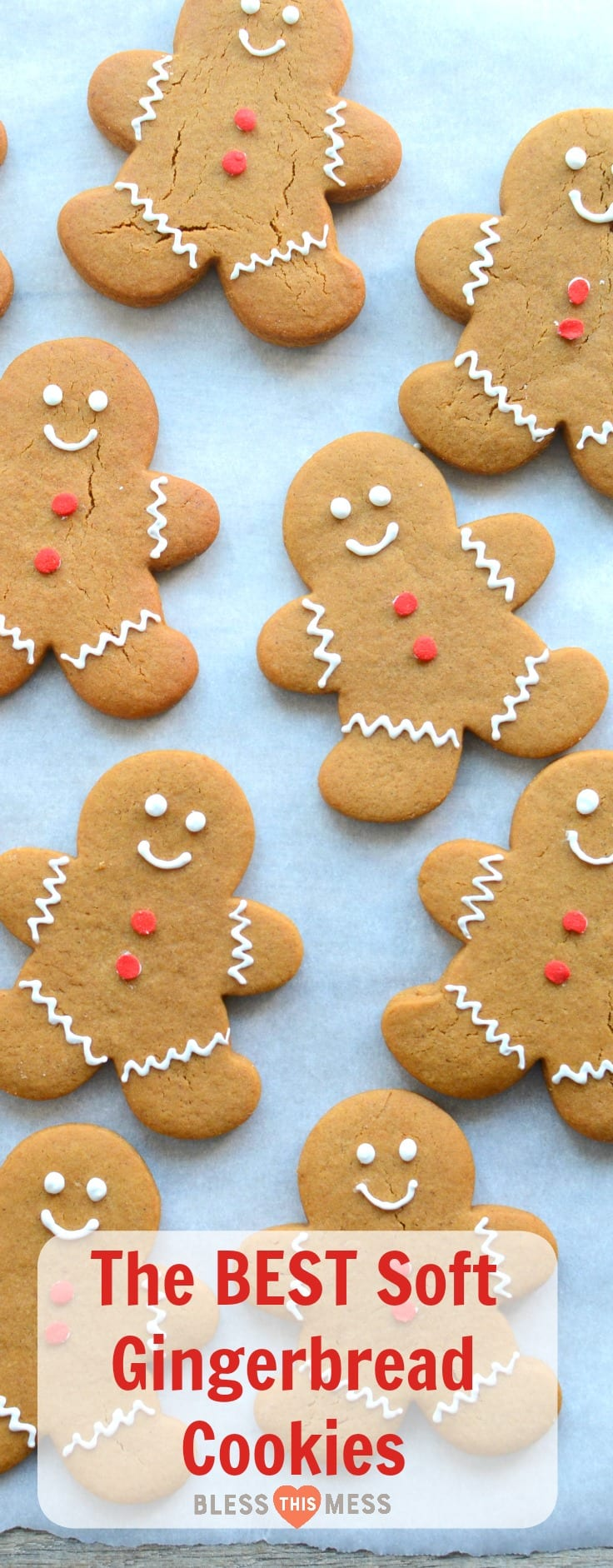 Soft Gingerbread Cookies — Bless This Mess