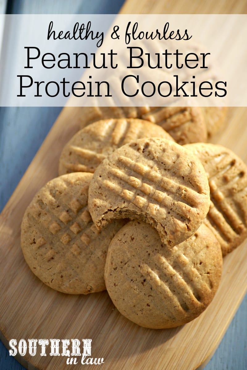 Southern In Law  Recipe  Healthy Peanut Butter Protein Cookies
