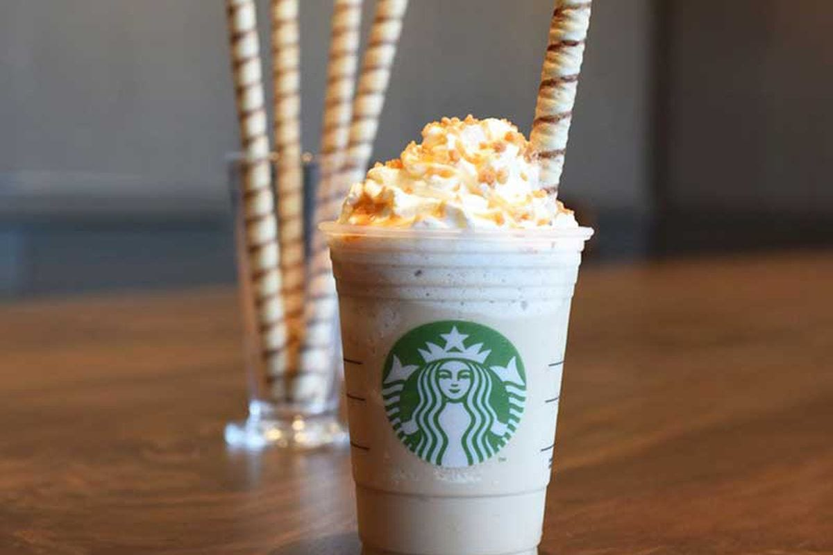 Starbucks Is Now Sticking Cookie Straws In All Frappuccinos