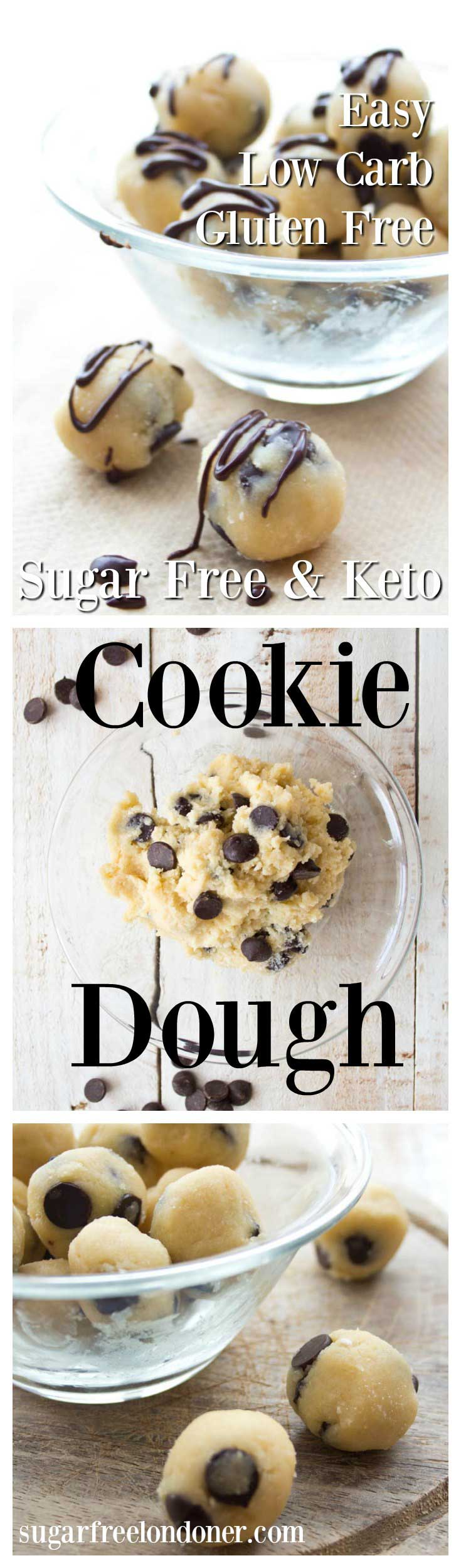 Sugar Free Low Carb Cookie Dough (chocolate Chip) – Sugar Free