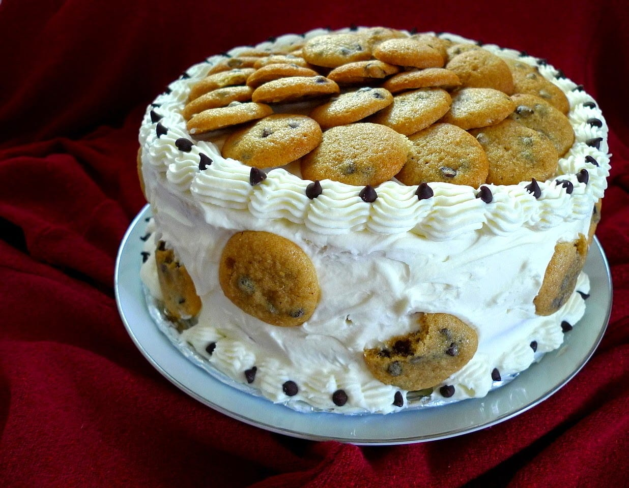 Sweet As Sugar Cookies  Chocolate Chip Cookie Dough Cake