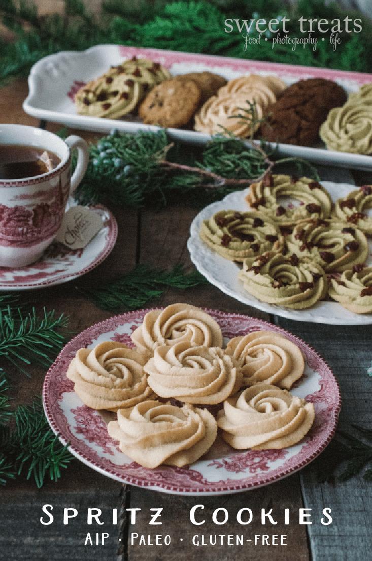 Sweet Treats  Food, Photography, Life  Spritz Cookies (aip, Paleo