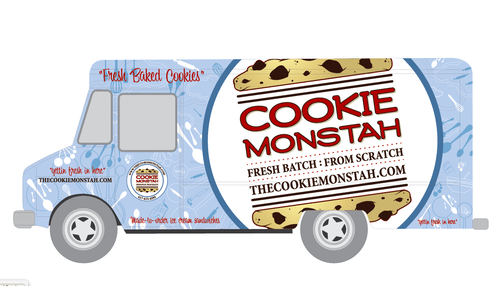 The Cookie Monstah On Twitter   Monstah Truck Is At  Sailboston