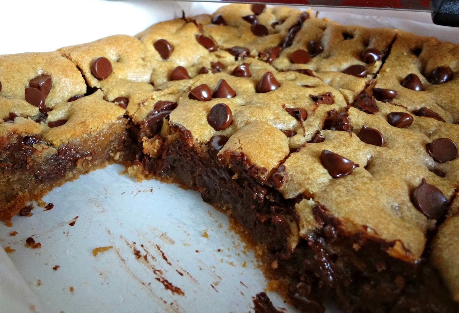 The Cooking Actress  Whole Wheat Chocolate Chip Cookie Bars
