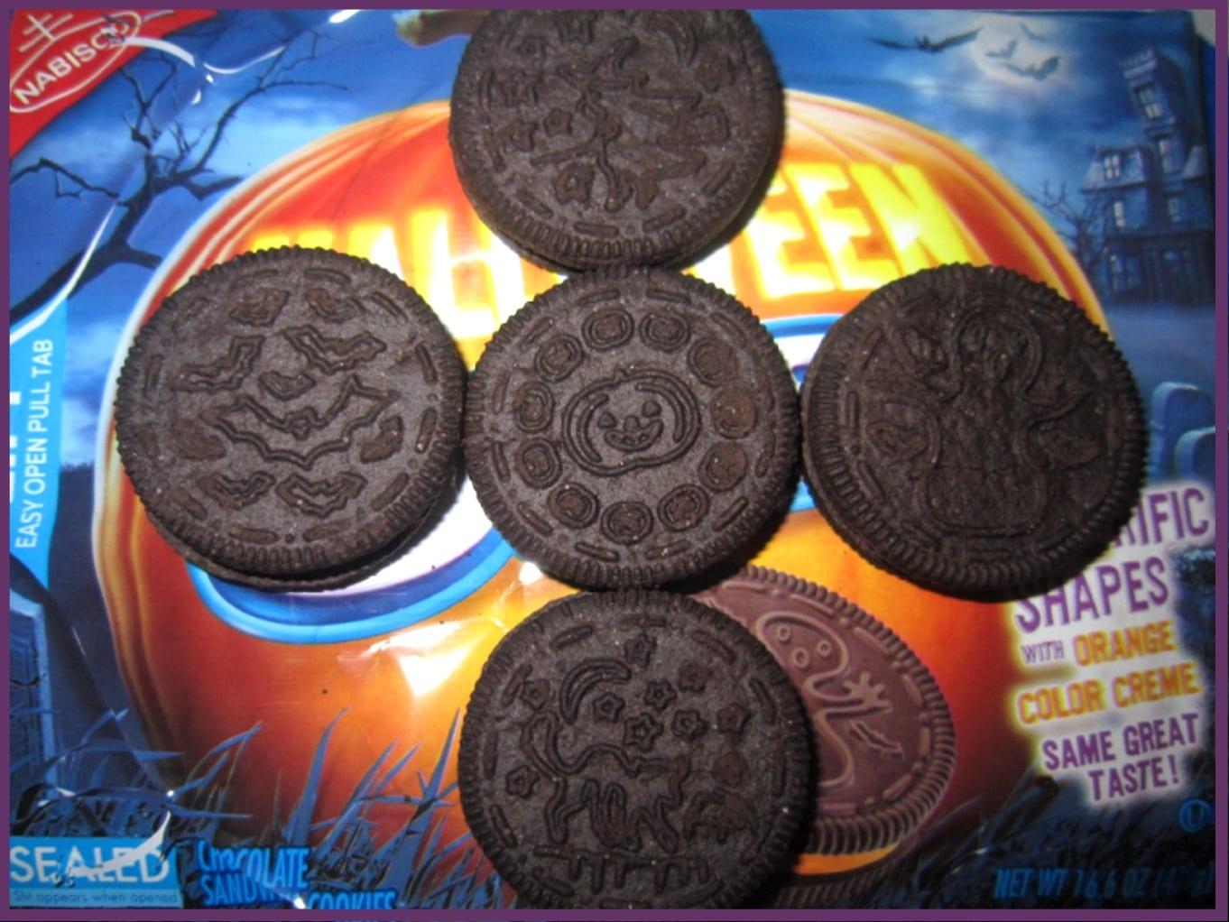 The Holidaze  Halloween Oreo Cookies
