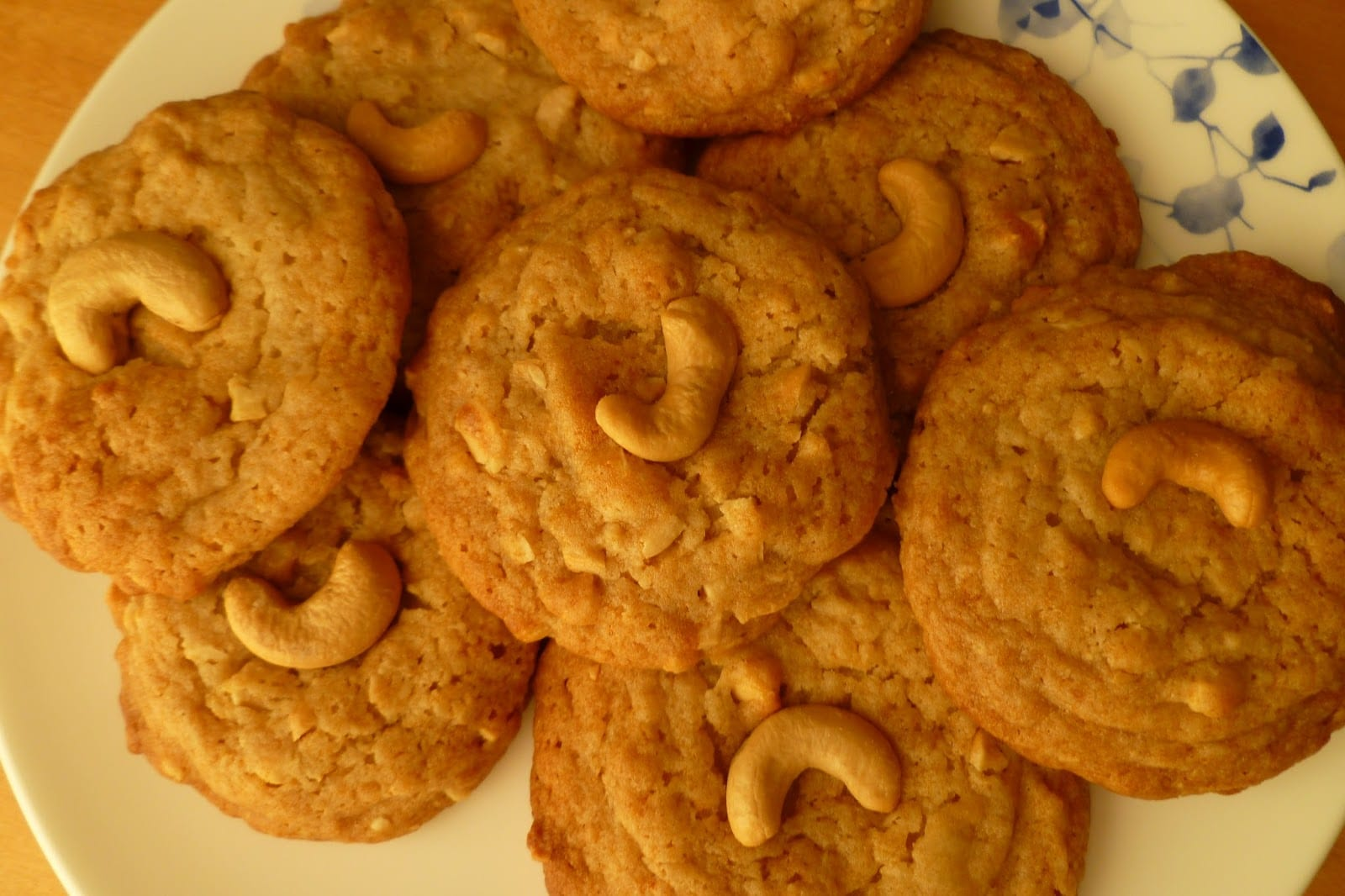The Pastry Chef's Baking  Cashew Butter Cookies