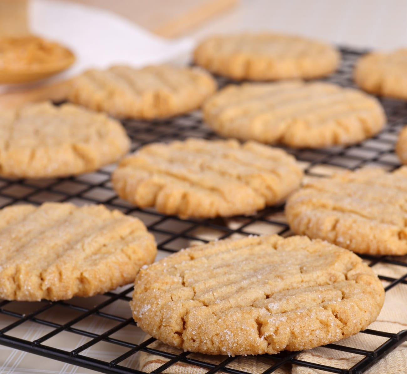 The Perfect Peanut Butter Cookies – 12 Tomatoes