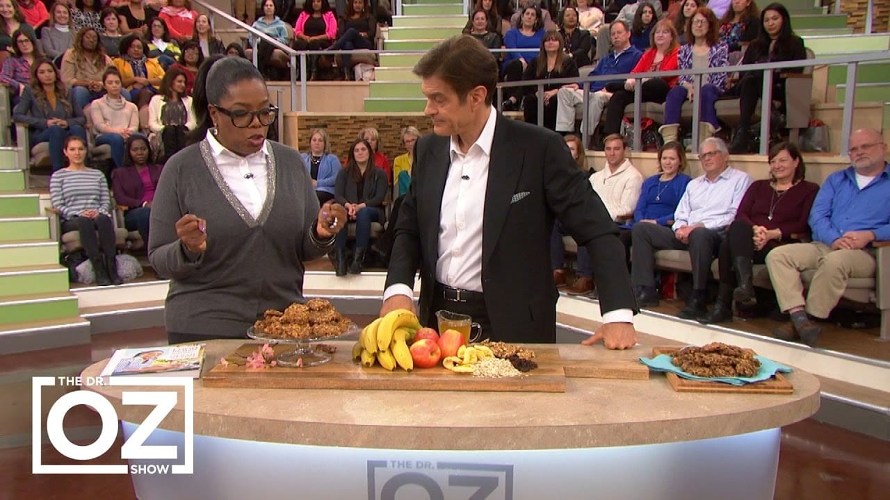 The Story Behind Oprah's Breakfast Cookies