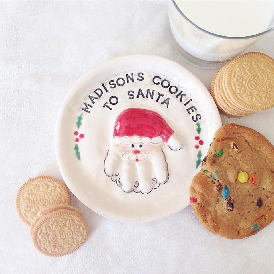 Thebabyhandprintcompany  Christmas Cookie Plate
