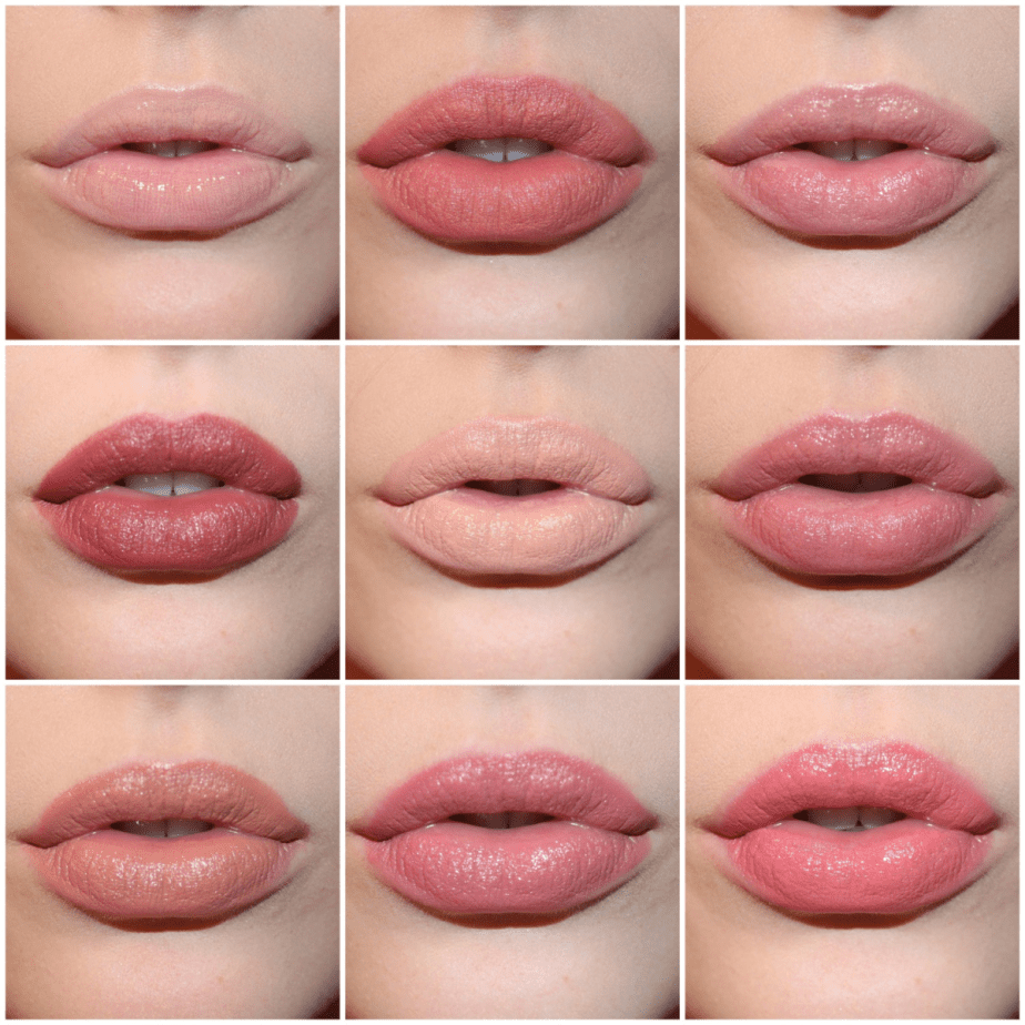 Top To Bottom, Left To Right We Have Nyx Butter Gloss In Fortune