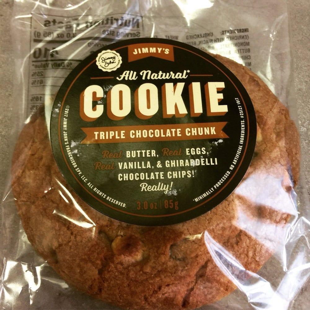 Triple Chocolate Chunk Cookie
