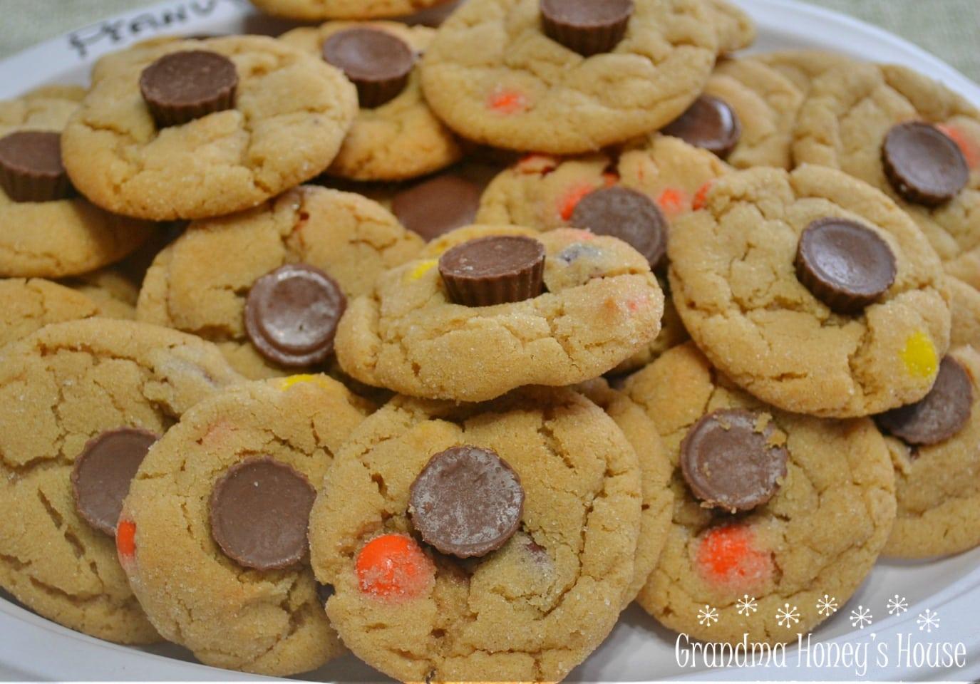 Triple Peanut Butter Cookie Delights