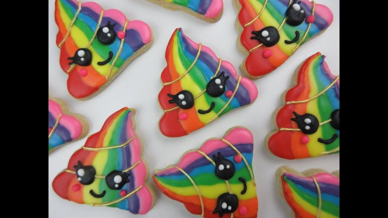 Unicorn Poop Cookies!