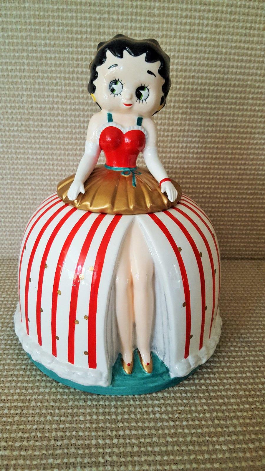 Vintage Betty Boop Cookie Jar Vandor 1994 Kitchen Decor