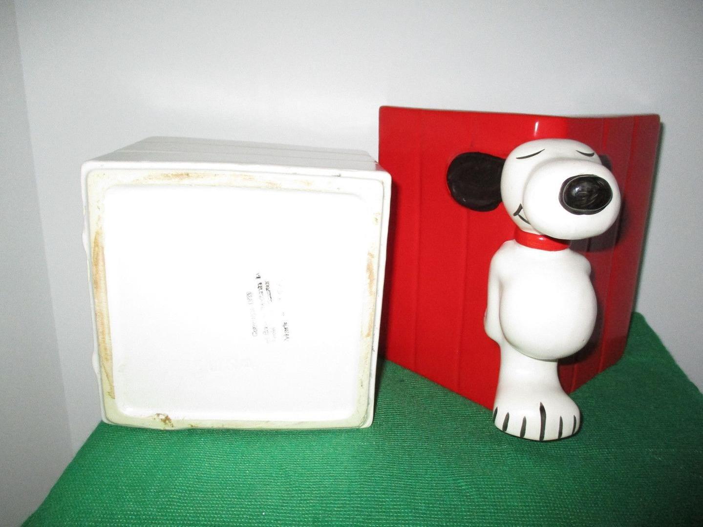 Vintage Mccoy Snoopy Cookie Jar 1970 Usa