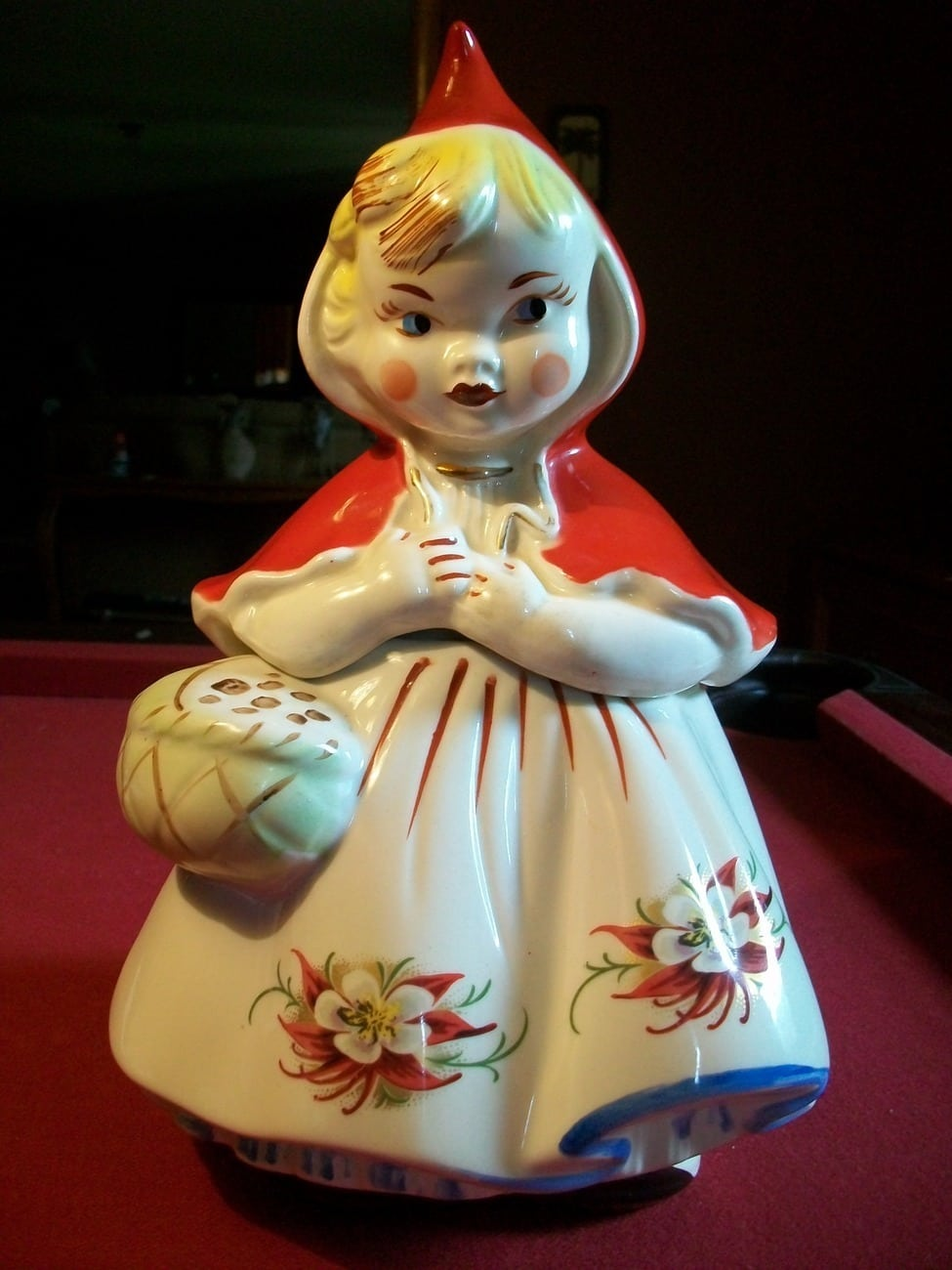 Vintage Regal Little Red Riding Hood Cookie And Similar Items