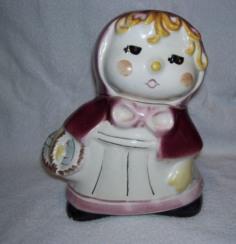 Vintage Weiss Little Red Riding Hood Cookie Jar