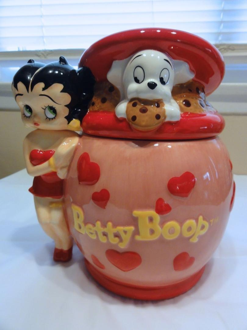 Westland Betty Boop Cookie Jar Numbered