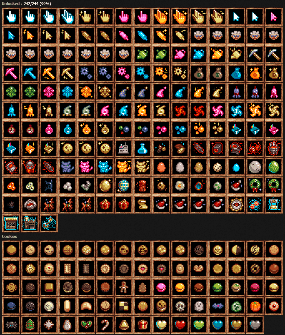 Which Upgrade Am I Missing    Cookieclicker
