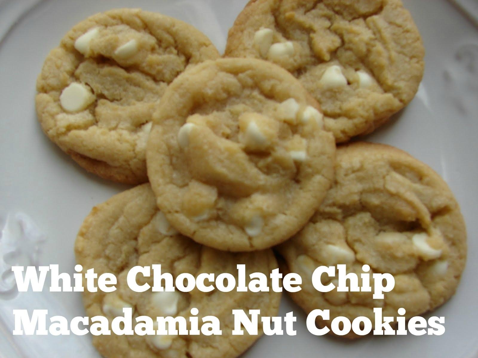 White Chip Macadamia Nut Cookies