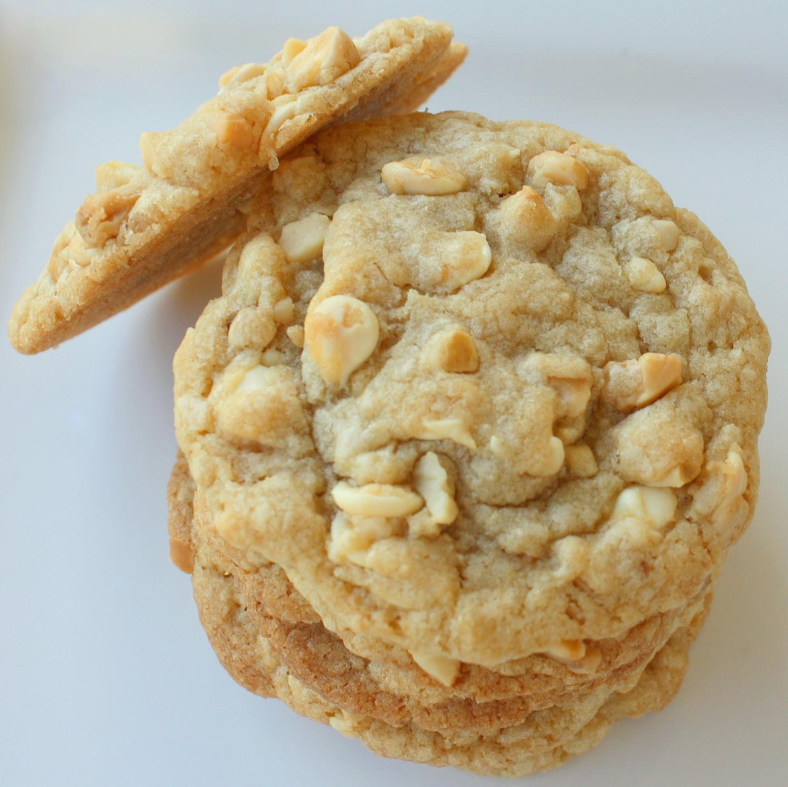 White Chocolate Macadamia Nut Cookies Photos