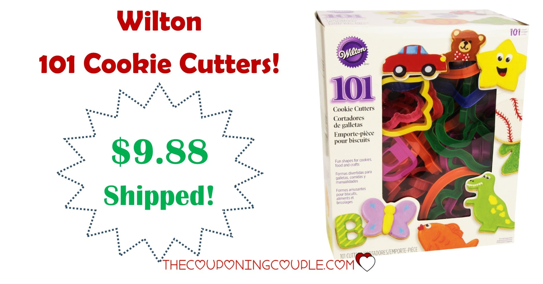 Wilton 101 Cookie Cutters
