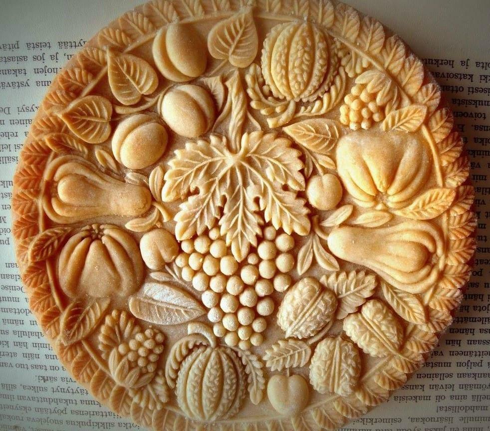Wooden Cookie Molds