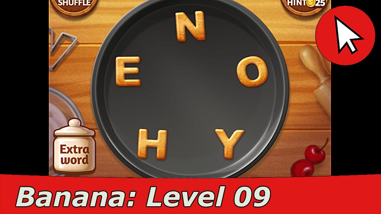 Word Cookies Banana 9 Answers