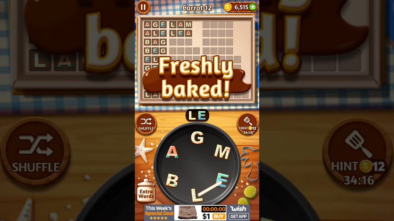 Word Cookies Carrot 12