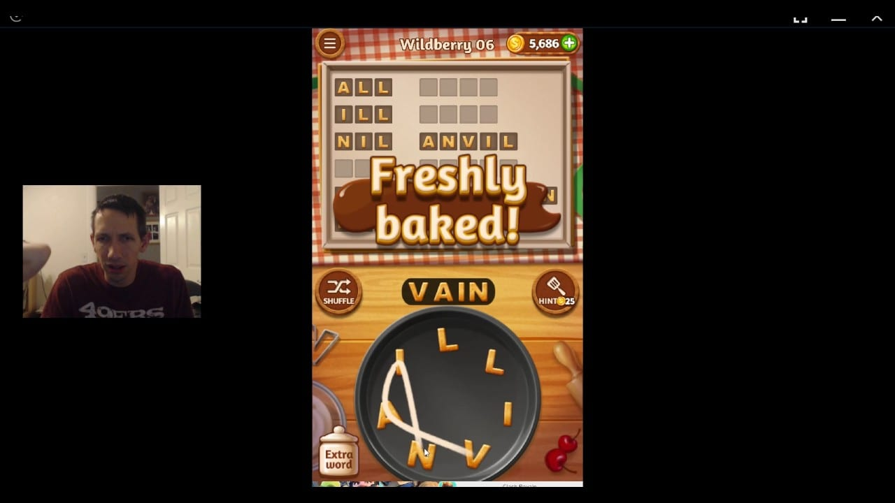 Word Cookies, Celebrity Chef, Wildberry Level 6