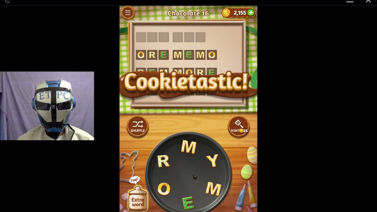 Word Cookies Chocolate 16 Solved