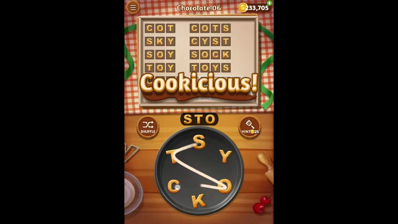 Word Cookies Chocolate Level 6 Answers    The Best Oatmeal