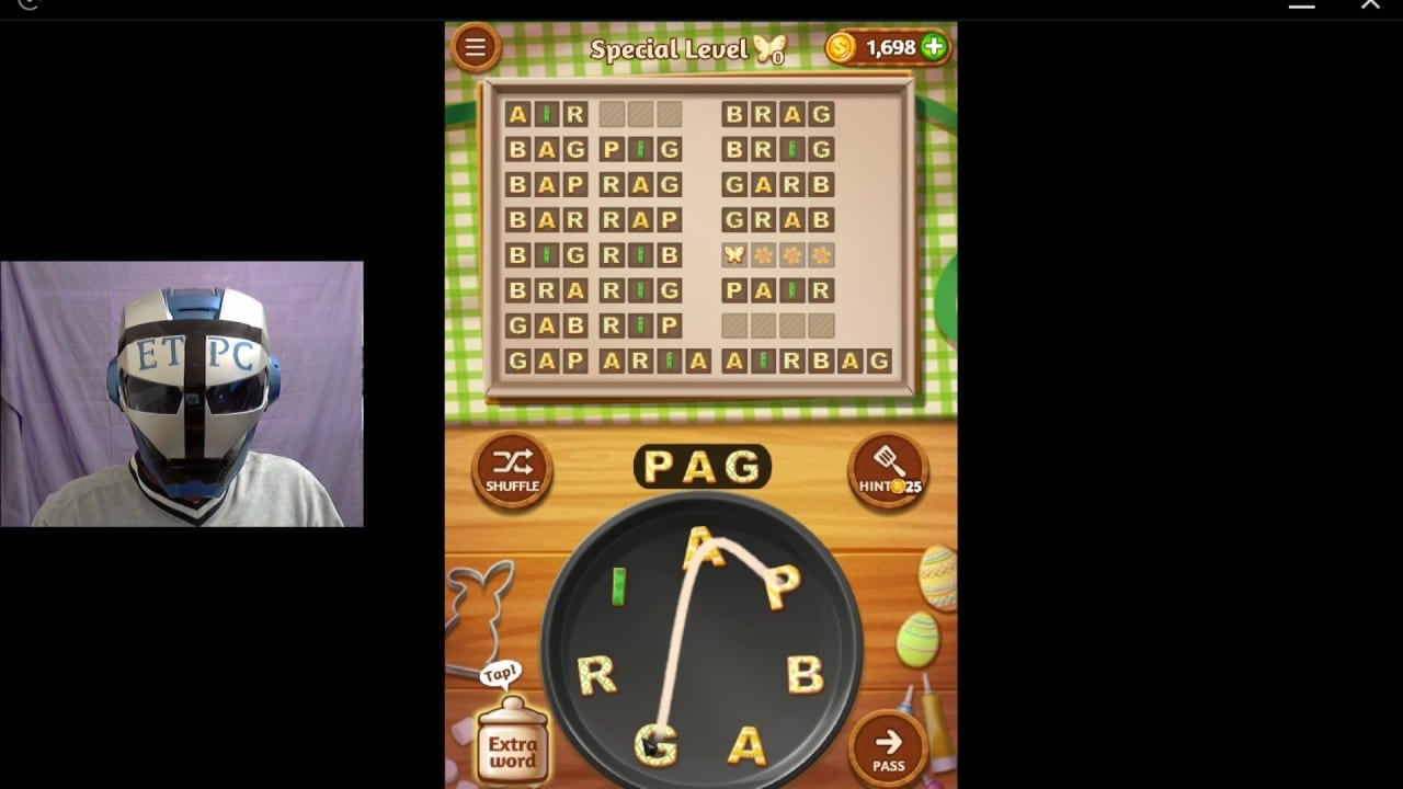 Word Cookies Coconut 10 Special Level 17 Solved