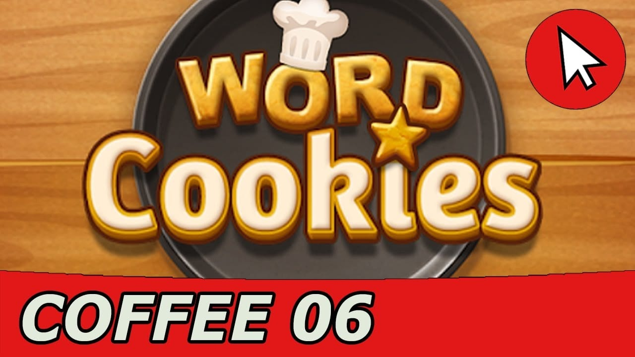 Word Cookies Coffee 6 Answers Guide (android Ios)