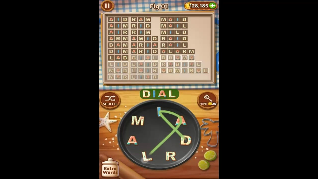Word Cookies Fig Pack Level 1 Answers