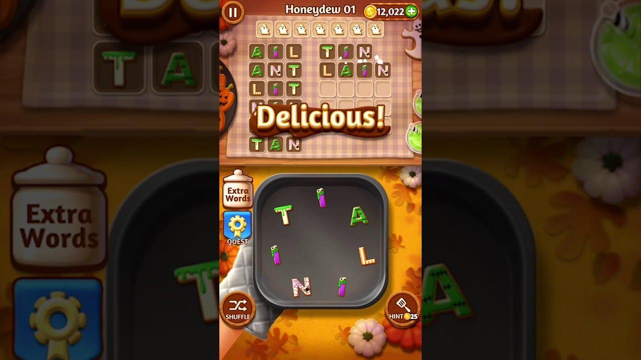 Word Cookies Honeydew 1